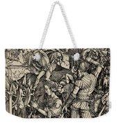 The Martyrdom Of St. Catherine Of Alexandria Weekender Tote Bag