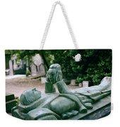 The Mask Of Meditation Weekender Tote Bag