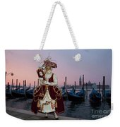 The Masks Of Venice Carnival Weekender Tote Bag