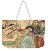 The Mass Of Saint Gregory Weekender Tote Bag