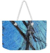 The Mast And The Wind Weekender Tote Bag