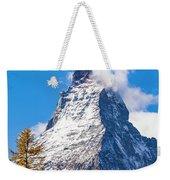 The Matterhorn Mountain Weekender Tote Bag