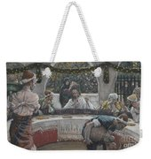 The Meal In The House Of The Pharisee Weekender Tote Bag