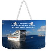 The Meaning Of Life Weekender Tote Bag