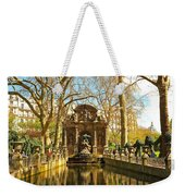 The Medici Fountain Weekender Tote Bag