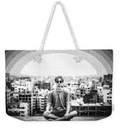 The Meditating Youth Weekender Tote Bag
