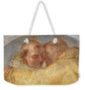 The Meeting Of St Francis And St Dominic  Weekender Tote Bag