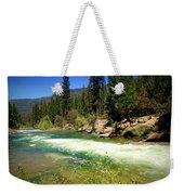 The Merced River In Yosemite Weekender Tote Bag