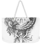 The Mermaid Fantasy Weekender Tote Bag