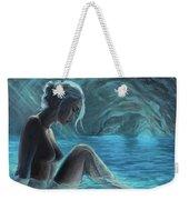 The Mermaid Of The Blue Cave Weekender Tote Bag