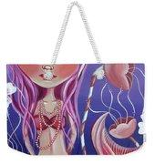 The Mermaid's Garden Weekender Tote Bag