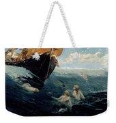 The Mermaid's Rock Weekender Tote Bag by Edward Matthew Hale