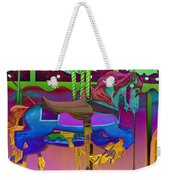 The Merry-go-round Of Life Weekender Tote Bag