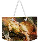 The Message Ignored Weekender Tote Bag
