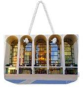The Metropolitan Opera House Weekender Tote Bag