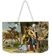 The Midnight Ride Of Paul Revere 1775 Weekender Tote Bag