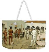 The Mier Expedition-the Drawing Of The Black Bean Weekender Tote Bag