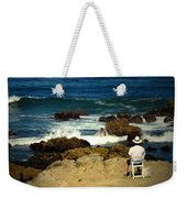 The Mighty Pacific Grab A Chair And Watch The Show Three Weekender Tote Bag