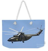 The Mil Mi-26 Cargo Helicopter Weekender Tote Bag