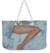 The Milk Bath Weekender Tote Bag