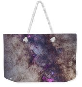 The Milky Way Around The Small Weekender Tote Bag