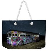 The Milky Way Bus Weekender Tote Bag
