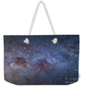 The Milky Way Through Carina And Crux Weekender Tote Bag