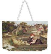 The Mill Weekender Tote Bag by John Roddam Spencer Stanhope