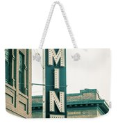 The Mint Classic Neon Sign Livingston Montana Weekender Tote Bag