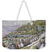 The Miracle Of The Loaves And Fishes Weekender Tote Bag by Tissot