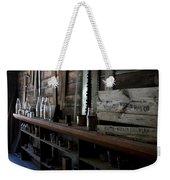 The Mishawaka Woolen Bar Weekender Tote Bag