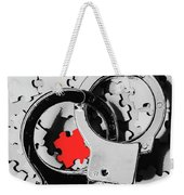 The Missing Puzzle Piece Weekender Tote Bag