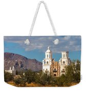 The Mission And The Mountains Weekender Tote Bag