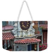 The Mission Inn Clock Tower Weekender Tote Bag