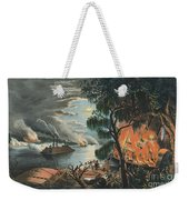 The Mississippi In Time Of War, 1865  Weekender Tote Bag