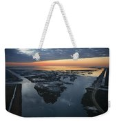 The Mississippi River Gulf Outlet Weekender Tote Bag