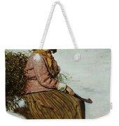 The Mistletoe Gatherer Weekender Tote Bag