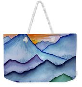 The Misty Mountains Weekender Tote Bag