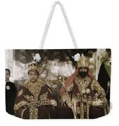 The Monarchs Haile Selassie The First Weekender Tote Bag