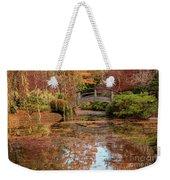 The Monet Bridge Weekender Tote Bag