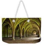 The Monks Cellarium, Fountains Abbey.  Weekender Tote Bag