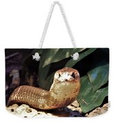 The Monocled Cobra Weekender Tote Bag