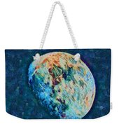 The Moon Weekender Tote Bag