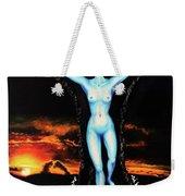 The Moon Goddess Weekender Tote Bag