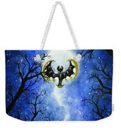 the moon of Lunala Weekender Tote Bag