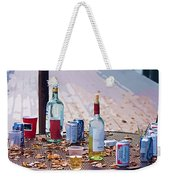 The Morning After The Party Weekender Tote Bag