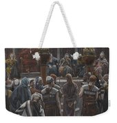 The Morning Judgement Weekender Tote Bag by Tissot