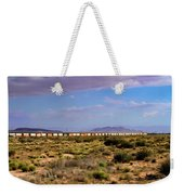 The Morning Train By Route 66 Weekender Tote Bag
