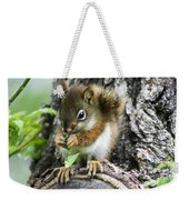 The Most Adorable Baby Squirrel Weekender Tote Bag