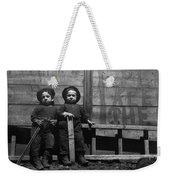 The Mott Street Boys Weekender Tote Bag